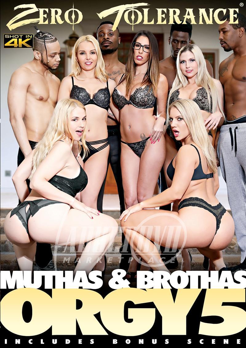 Muthas & Brothas Orgy 5 (2019) Interracial, Orgy, Zero